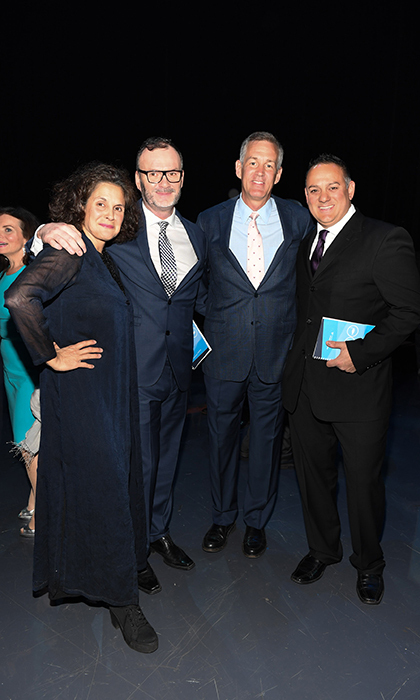 <h4>Waterkeeper Gala</h4><p>Jennifer Baichwal, Mark Mattson, Kenneth Irving and Krishna Baichwal</p><p>Photo: © George Pimentel Photography</p>