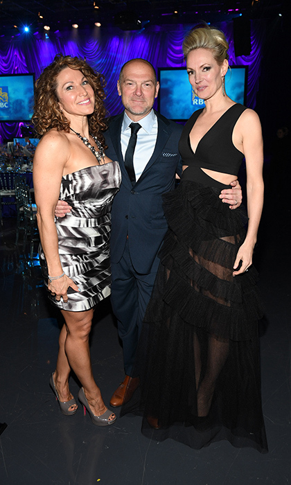 <h4>Waterkeeper Gala</h4><p>Orlena Cain, Les Stroud and Liesa Norman</p><p>Photo: © George Pimentel Photography</p>