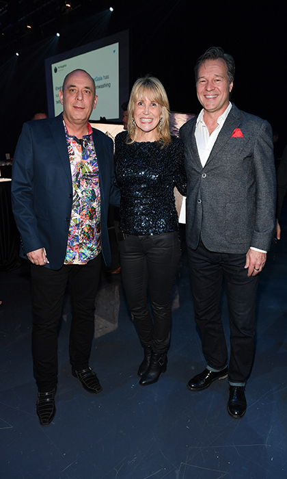 <h4>Waterkeeper Gala</h4><p>Steve Meraska, Allison Hunt and David Kitching</p><p>Photo: © George Pimentel Photography</p>