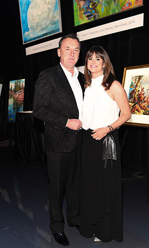 <h4>Waterkeeper Gala</h4><p>Steven Joyce and Carolyn Park</p><p>Photo: © George Pimentel Photography</p>