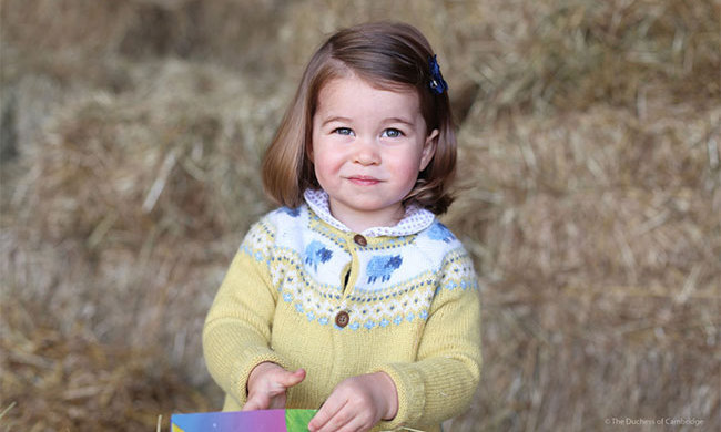 Happy 2nd Birthday Princess Charlotte! Prince William and Kate shared this adorable photograph of their little girl in honour of her special day. 