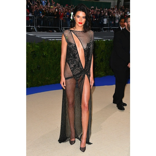 Kendall Jenner in La Perla