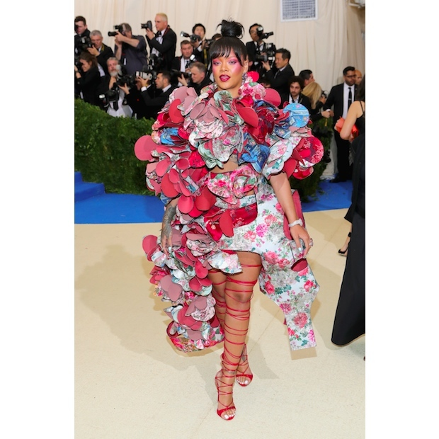 Rihanna in Comme Des Garçons