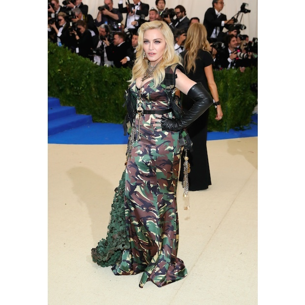 Madonna in in Moschino