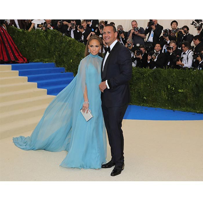 Selena and The Weeknd weren't the only couple making their debut at the gala. Jennifer Lopez and Alex Rodriguez also went public with their romance. 
