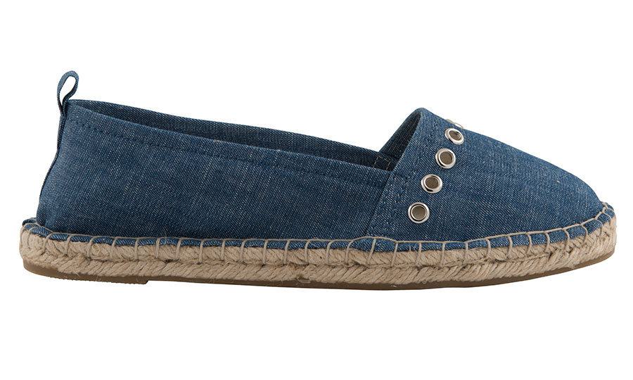 <p>Denim Espadrilles, $29, <em>joefresh.com</em></p>
