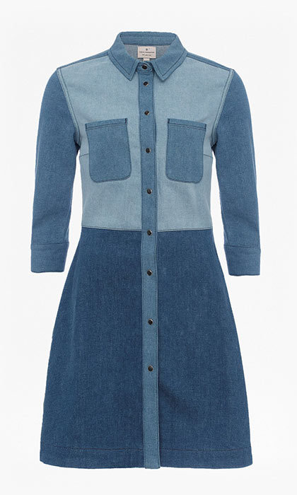 <p>Edie Denim Shirt Dress, $198, <em>canada.frenchconnection.com</em></p>