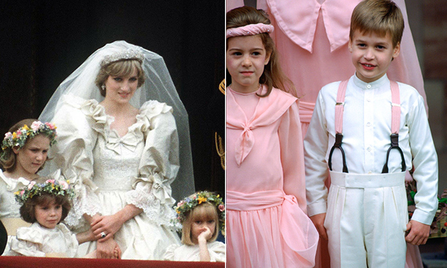Get The Look Retro Royal Pageboy And Flower Girl Ensembles Hello Canada
