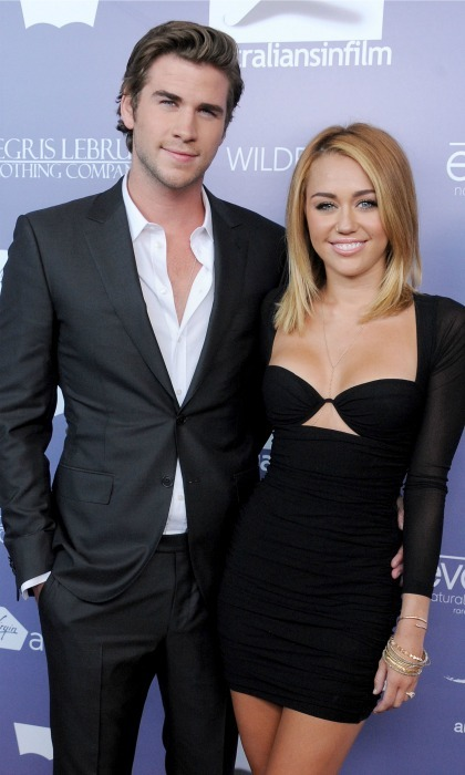 Miley and Liam have been in an on/off relationship since 2009.