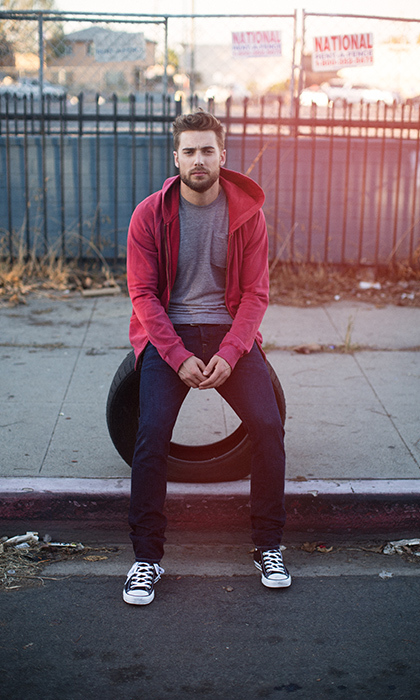 "<h2>DUSTIN MILLIGAN</h2><p><strong>HOMETOWN</strong> Yellowknife, N.W.T. <strong>AGE</strong> 31 <strong>ON CAMERA</strong> He's vet Ted on <em>Schitt's Creek</em> and is also filming the second season of <em>Dirk Gently's Holistic Detective Agency</em> &nbsp;<strong>JUST FOR LAUGHS</strong> ""I've always been desperate for laughs, so when I'm working on <em>Schitt's Creek</em> and hear chuckles from behind the monitors, I feel confident"" <strong>GROWN-UP STYLE</strong> ""A slightly more mature version of the exact same thing I was wearing when I was 14"" <strong>NORTHERN REFLECTIONS</strong> ""Yellowknife is a beautiful, special oasis, and I think it's truly a big part of who I am"" <strong>ON CANADIAN SOIL</strong> ""I really do love when I come here,"" the L.A.-based actor tells <em>Hello!</em> ""There is just a slightly different attitude in the air … it's comfortable and it's home""</p><p>Photo: © Amanda Crew</p>"