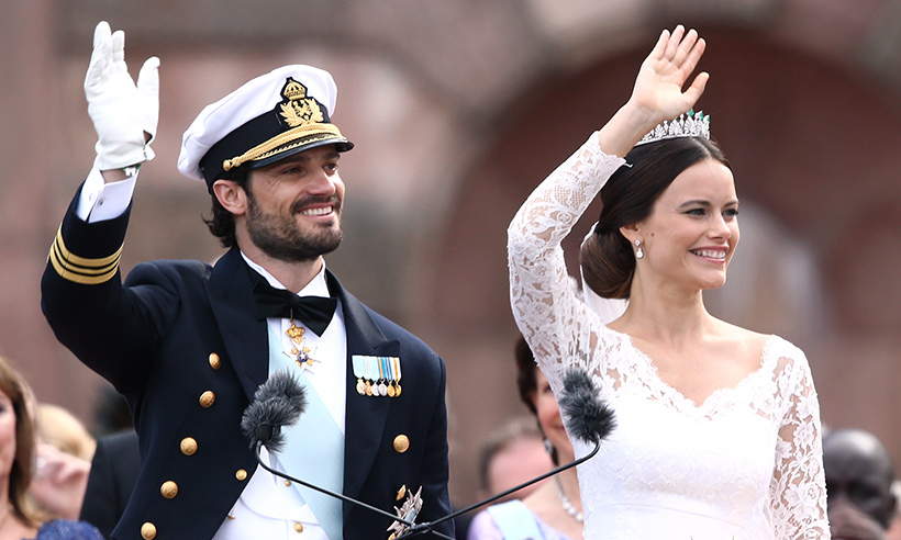 Sorry ladies, he's taken! Carl Philip married longtime love Sofia Hellqvist on June 13 2015. 