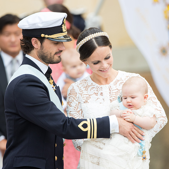 Swoon alert! As if being a handsome prince isn't enough, Carl Philip is also a doting father to son Prince Alexander.  