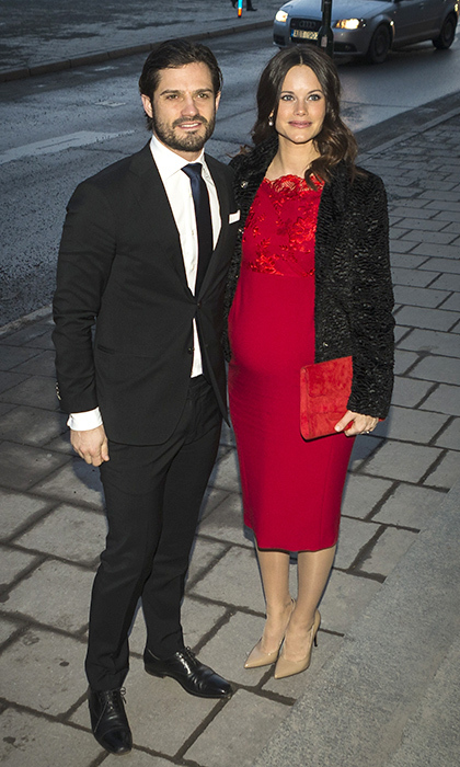 Prince Carl Philip looked more dapper than ever as he escorted Princess Sofia to an event at the Royal Swedish Academy of Fine Arts in 2016.