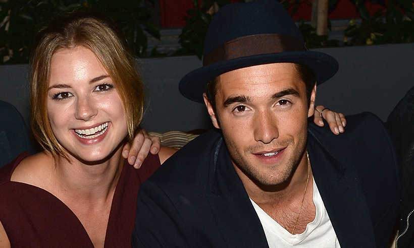 <h3>Emily VanCamp and Josh Bowman</h3>