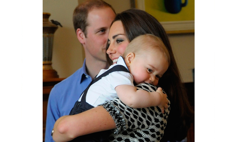 "Proud Prince William has previously said he is ""lucky"" to have Kate, describing her as ""an amazing mother and a fantastic wife.""