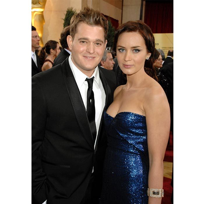 <h2>Michael Bublé and Emily Blunt</h2>