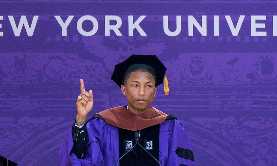 Pharrell delivers passionate speech about women\'s rights at NYU: \'We ...