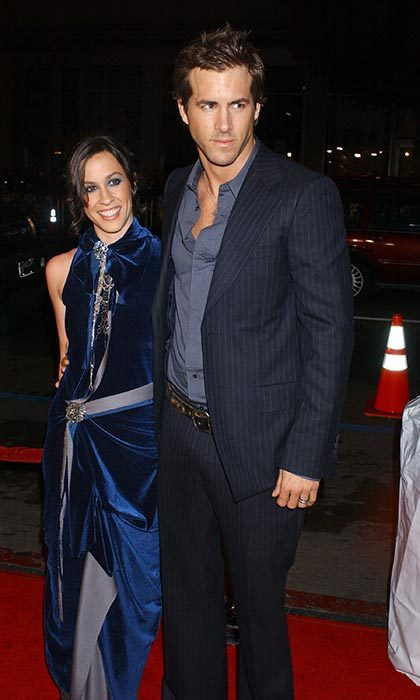 <h2>Ryan Reynolds and Alanis Morissette</h2> 