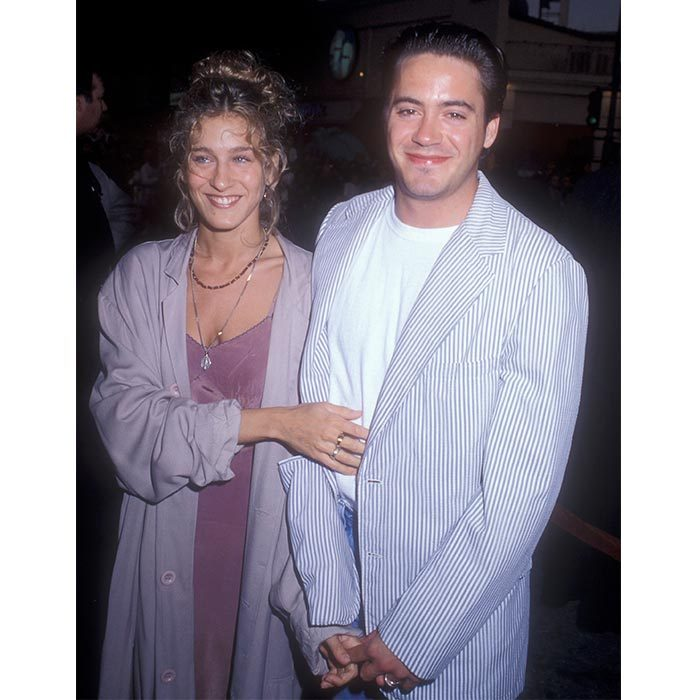 <h2>Robert Downey Jr. and Sarah Jessica Parker</h2>
