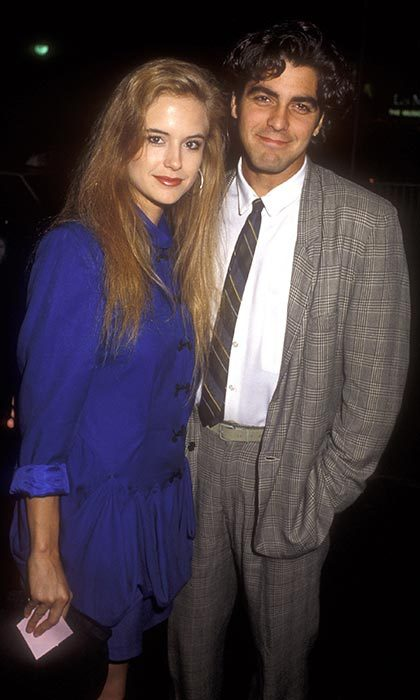 <h2>George Clooney and Kelly Preston</h2>