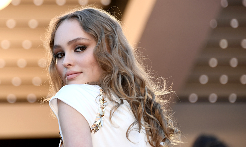 Actress Lily-Rose Depp looked picture perfect at the premiere of <em>Ismael's Ghosts</em>.