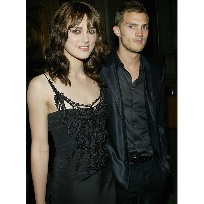 <h2>Keira Knightley and Jamie Dornan</h2>