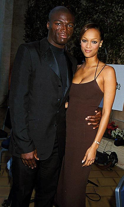 <h2>Seal and Tyra Banks</h2>
