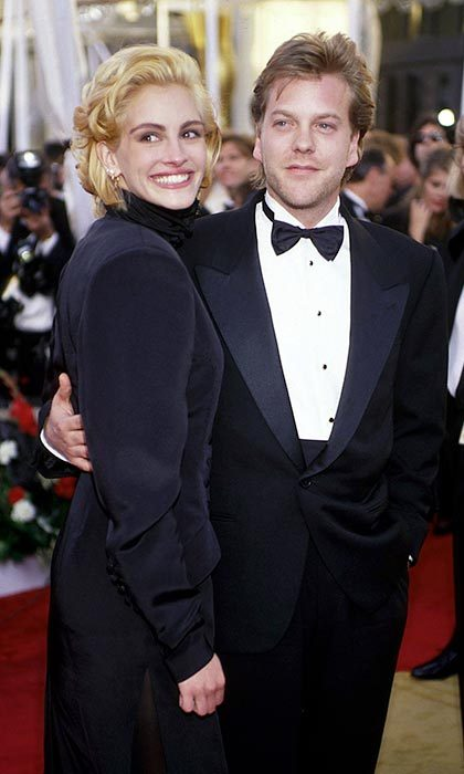 <h2>Keifer Sutherland and Julia Roberts</h2>