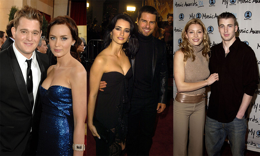 Remember when Penelope Cruz and Tom Cruise were inseparable or when Michael Buble was penning tunes about Emily Blunt?
