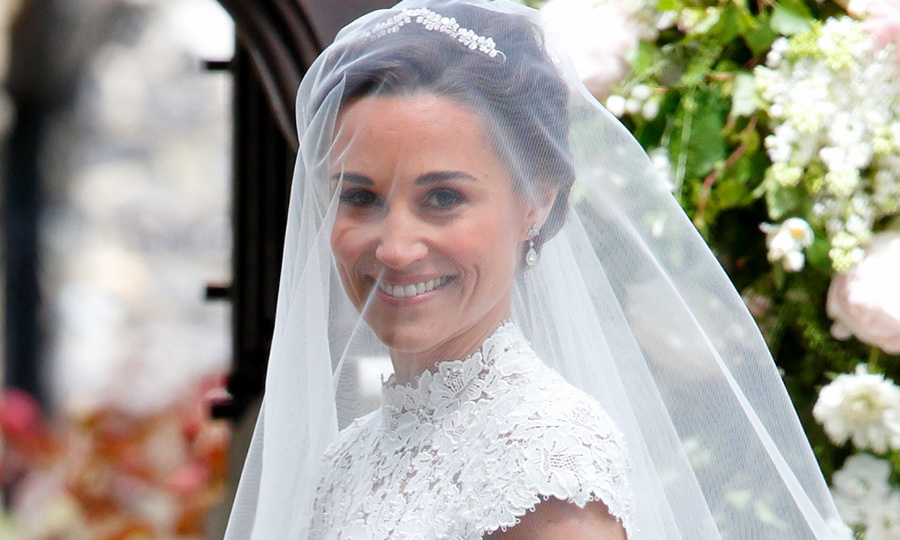 Pippa Middleton Changed Into Second Gown For Her Wedding Reception