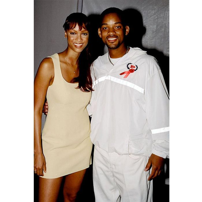 <h2>Will Smith and Tyra Banks</h2>