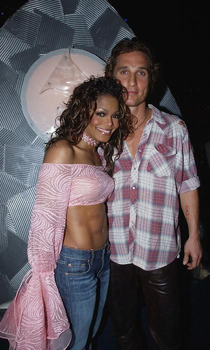 <h2>Matthew McConaughey and Janet Jackson</h2>