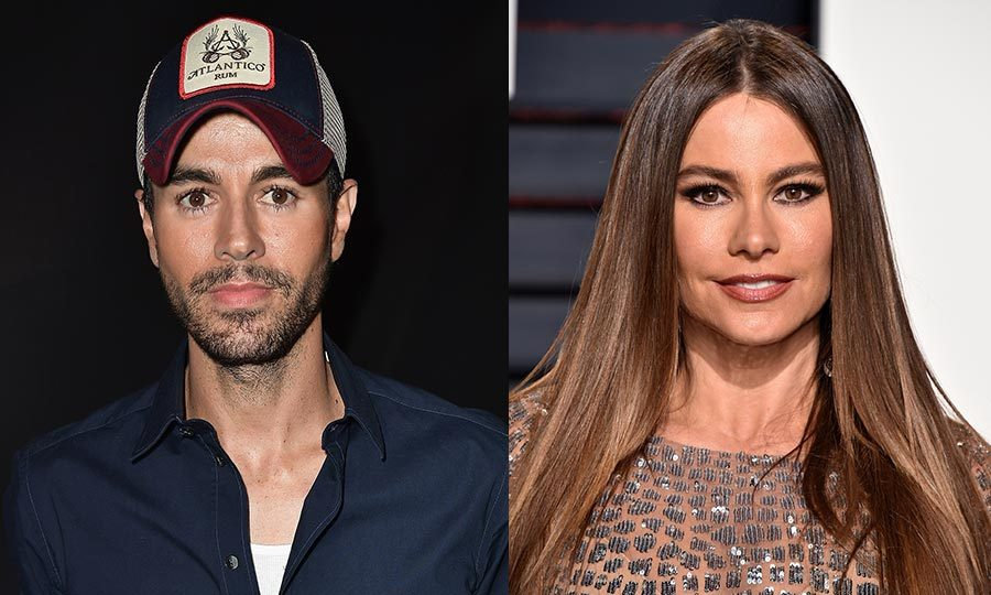 <h2>Enrique Iglesias and Sofia Vergara</h2>