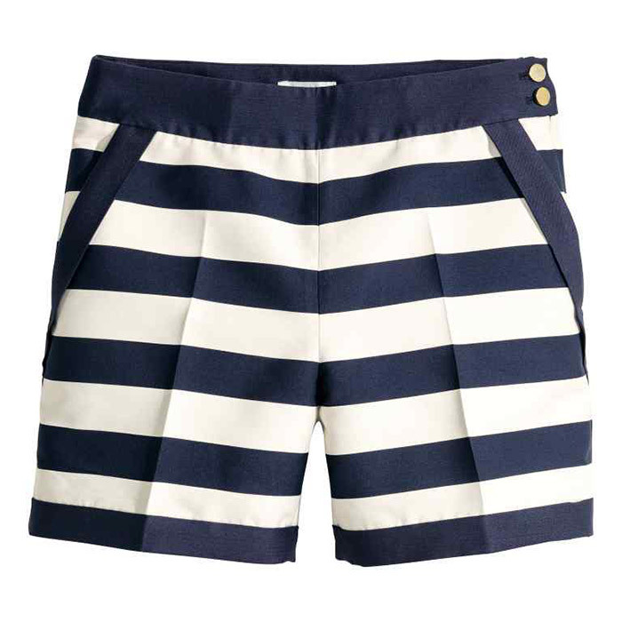 <p>H&amp;M Tailored Shorts, $35, <em>hm.com</em></p>