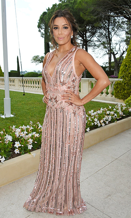 Eva Longoria in Elie Saab