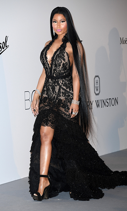 Nicki Minaj in Roberto Cavalli 