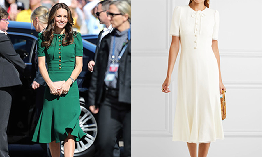 Kate wears Dolce and Gabbana