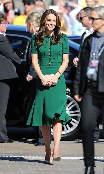 Kate wears D&G