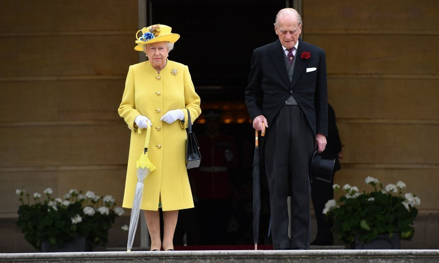 The May 23 Buckingham Palace event had started with hosts Queen Elizabeth and Prince Philip leading a minute's silence in honour of the victims of the terror attack in Manchester, England.