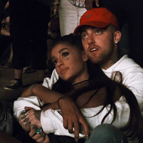 Ariana and Mac Miller have been inseparable ever since they started dating last year.	