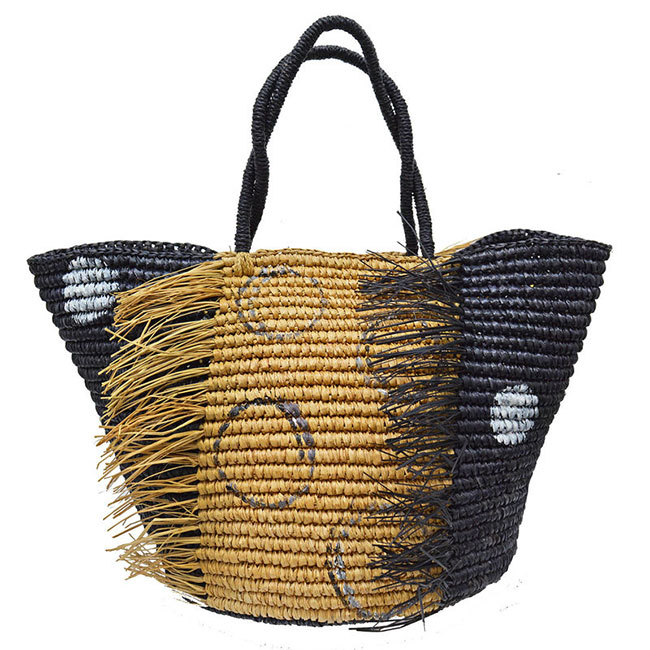 Pippa Middleton's straw basket-style bag by SensiStudio retails at £230.