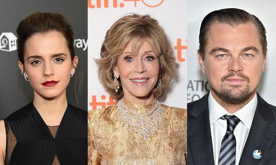 Many celebrities are advocates for the environment. From Jane Fonda, to Leonardo DiCaprio to young millennials like Emma Watson, Hollywood is overflowing with stars determined to protect the earth and inspire others to do the same.
