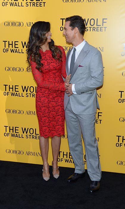 In Dec. 2013, the lovebirds only had eyes for each other at <em>The Wolf of Wall Street</em> premiere in New York. 