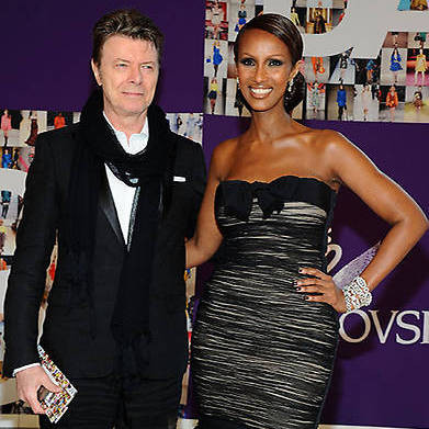 Iman pays tribute to husband David Bowie on their wedding anniversary.