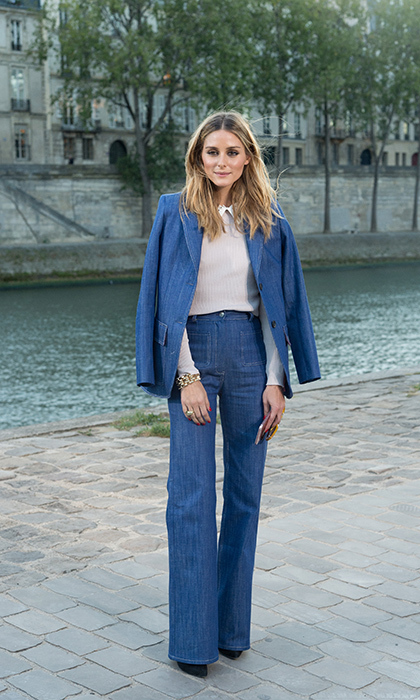 Leave it to Olivia Palermo to make the Canadian tux fashion week appropriate. 