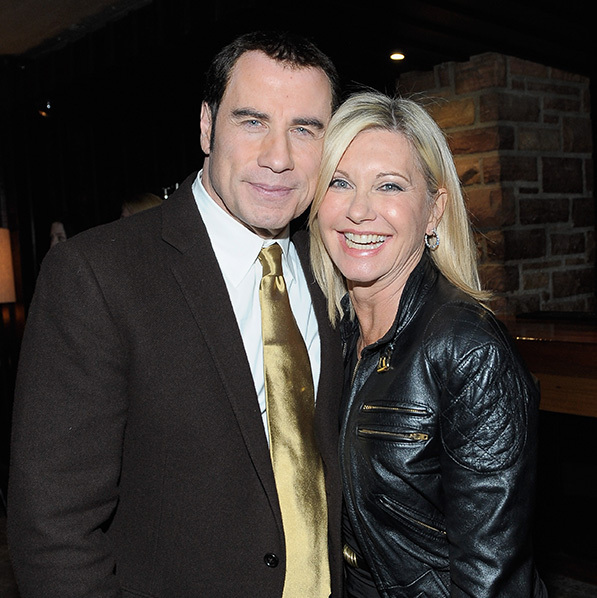 John Travolta has sent a message of support to Olivia Newton-John following her cancer diagnosis.