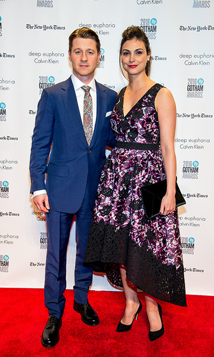<h3>Morena Baccarin and Ben McKenzie</h3>