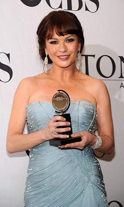 Catherine Zeta-Jones proved that she was a triple threat in the 2002 film version of Chicago, but it wasn't until seven years later that the star received a Tony award for best actress in a musical in 2010 for <em>A Little Night Music</em>.