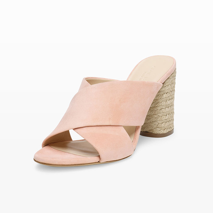 <p><strong>Atashia Sandals in Pink</strong>, $298, <em>clubmonaco.ca</em></p>