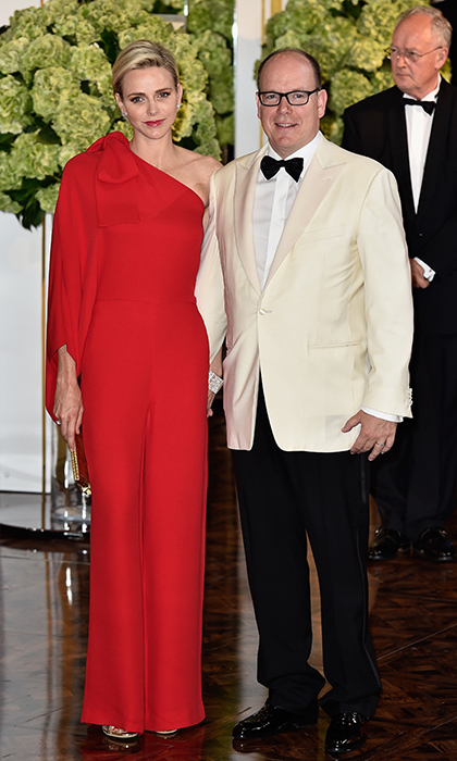 Former Olympic swimmer Charlene Wittstock became Charlene, Princess of Monaco when she married Prince Albert II in 2011. Some of her favourite designers include Dior, Akris and Giorgio Armani, and Charlene favours tailored looks that show off her svelte and fit frame.